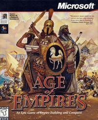 Portada oficial de Age of Empires para PC