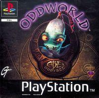Portada oficial de OddWorld: Abe's Oddysee para PS One