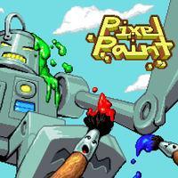Portada oficial de Pixel Paint eShop para Nintendo 3DS