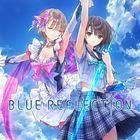 Portada oficial de de Blue Reflection para PS4