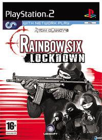 Portada oficial de Tom Clancy's Rainbow Six: Lockdown para PS2