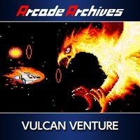Portada oficial de Arcade Archives Vulcan Venture para PS4