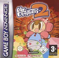 Portada oficial de Mr. Driller 2 para Game Boy Advance
