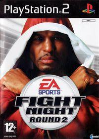 Portada oficial de EA Sports Fight Night Round 2 para PS2