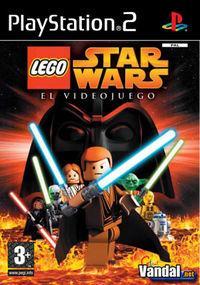 Portada oficial de Lego Star Wars para PS2
