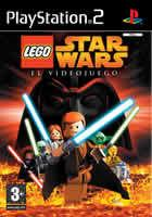 Portada oficial de de Lego Star Wars para PS2