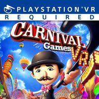 Portada oficial de Carnival Games VR para PS4
