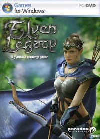 Portada oficial de Elven Legacy para PC