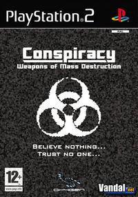 Portada oficial de Conspiracy: Weapons of Mass Destruction para PS2