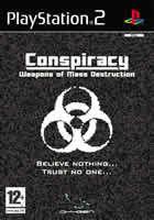 Portada oficial de de Conspiracy: Weapons of Mass Destruction para PS2