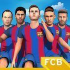 Portada oficial de de FC Barcelona Ultimate Rush para Android