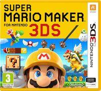 Portada oficial de Super Mario Maker for Nintendo 3DS para Nintendo 3DS