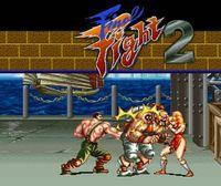 Portada oficial de Final Fight 2 CV para Nintendo 3DS