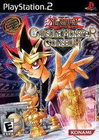 Portada oficial de YU-GI-OH! The Capsule Monster para PS2
