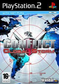 Portada oficial de Conflict: Global Storm para PS2
