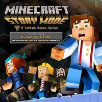 Portada oficial de Minecraft: Story Mode - Episode 8: A Journey's End? para PS4