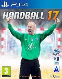 Portada oficial de Handball 17 para PS4