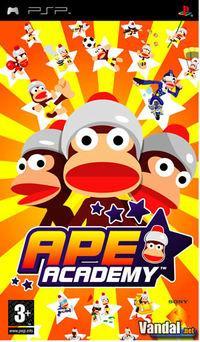 Portada oficial de Ape Academy para PSP
