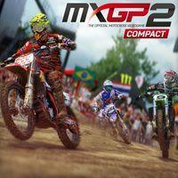 Portada oficial de MXGP2 - The Official Motocross Videogame Compact para PS4