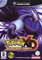 Portada oficial de de Pokémon XD: Tempestad Oscura para GameCube