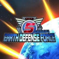 Portada oficial de Earth Defense Force 5 para PS4