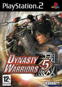 Portada oficial de Dynasty Warriors 5 para PS2