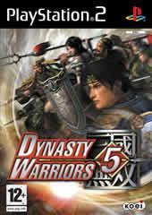 Portada oficial de de Dynasty Warriors 5 para PS2