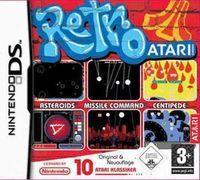 Portada oficial de Retro Atari Classics para NDS