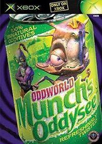 Portada oficial de OddWorld: Munch's Oddysee para Xbox