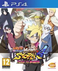 Portada oficial de Naruto Shippuden: Ultimate Ninja Storm 4 Road to Boruto para PS4