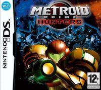 Portada oficial de Metroid Prime: Hunters CV para Wii U