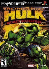Portada oficial de El Increíble Hulk para PS2
