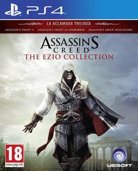 Portada oficial de Assassin's Creed The Ezio Collection para PS4