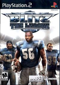Portada oficial de Blitz: The League para PS2