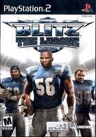 Portada oficial de de Blitz: The League para PS2