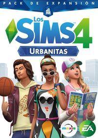 Portada oficial de Los Sims 4: Urbanitas para PC