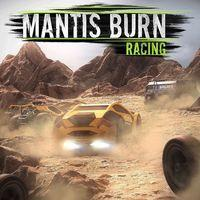 Portada oficial de Mantis Burn Racing para PS4