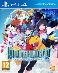 Portada oficial de Digimon World: Next Order para PS4