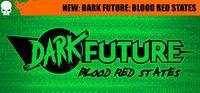 Portada oficial de Dark Future: Blood Red States para PC