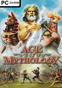 Portada oficial de Age of Mythology para PC