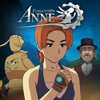 Portada oficial de Forgotton Anne para PS4