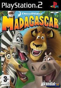 Portada oficial de Madagascar para PS2