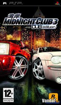 Portada oficial de Midnight Club 3: DUB Edition para PSP