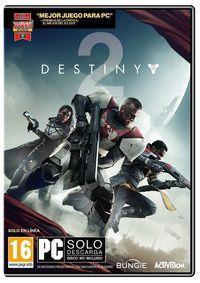 Portada oficial de Destiny 2 para PC
