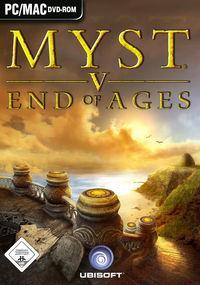 Portada oficial de Myst V: End of Ages para PC