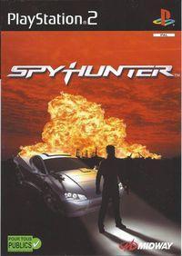 Portada oficial de Spy Hunter para PS2