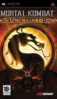 Portada oficial de Mortal Kombat Unchained para PSP