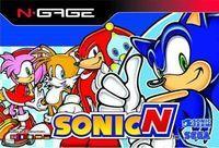 Portada oficial de Sonic N para N-Gage