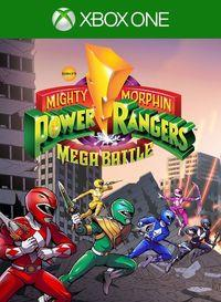 Portada oficial de Mighty Morphin Power Rangers: Mega Battle para Xbox One