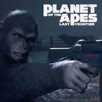 Portada oficial de Planet of the Apes: Last Frontier para PS4